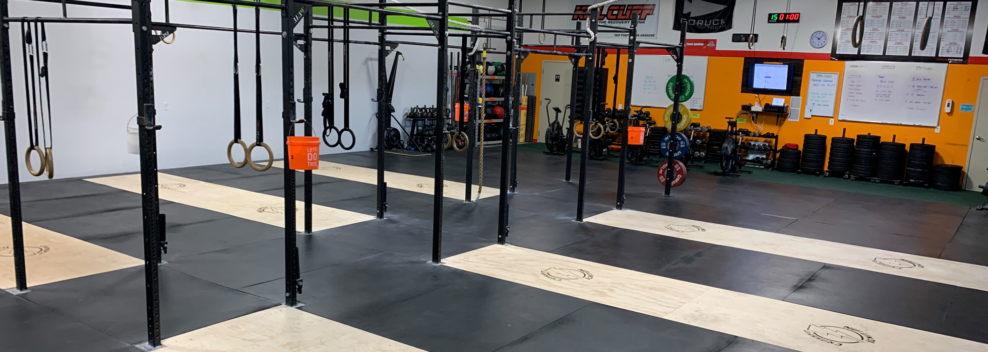 CrossFit Gym near Flushing MI
